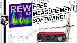 FREE Acoustical Measurement Software: Room EQ Wizard (REW) screenshot 1