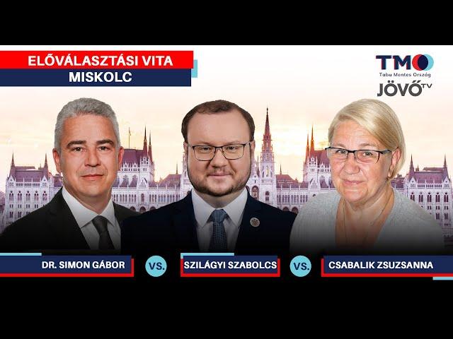 Előválasztási vita | Miskolc, BAZ 1. | Jövő TV