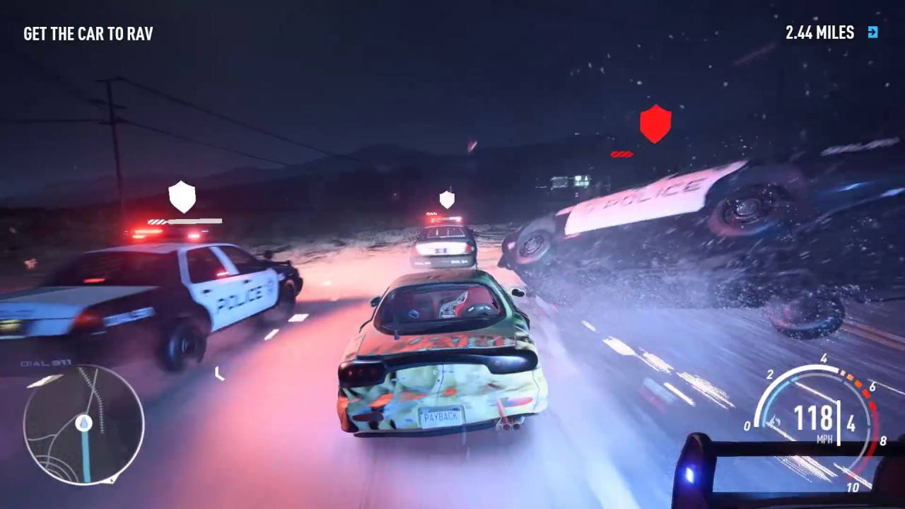 Need For Speed Payback - 30 minutes of Police Pursuit ...