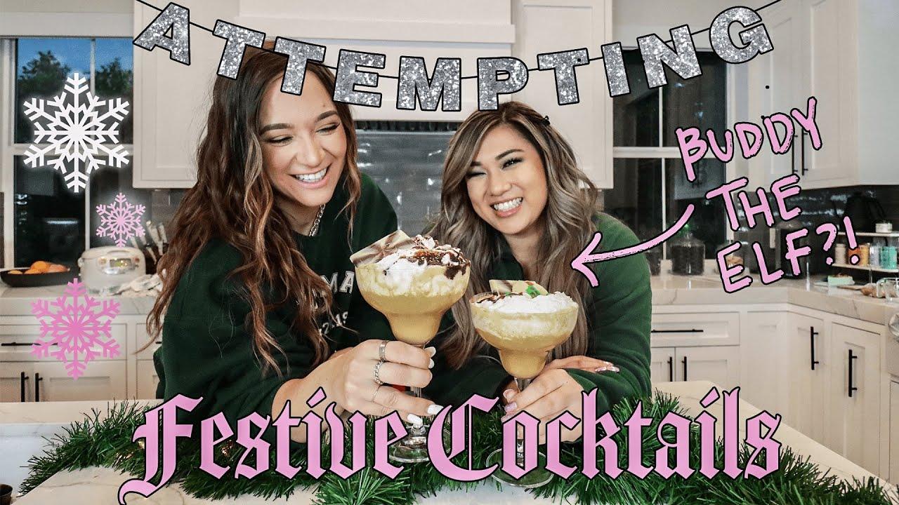 Remi & Alisha *ATTEMPT* Festive Cocktail Recipes