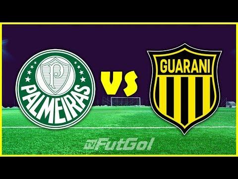 PALMEIRAS X GUARANI-PAR AO VIVO | GRUPO B | 2ª RODADA | 10/03/2020