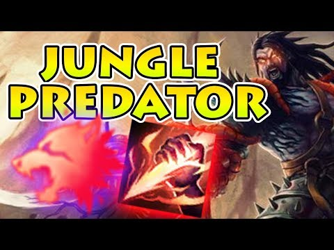 PREDATOR TRYNDAMERE Jungle - Having Ghost without the Summoner Spell! [Patch 7.22]