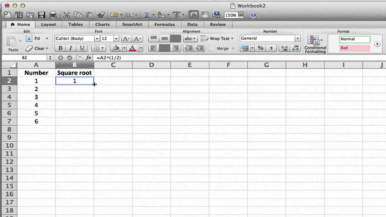 How to Input 211/21 as an Exponent in Excel : MS Excel Tips