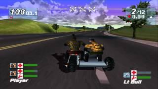 Road Rash Jailbreak SideCar (Co op) gameplay