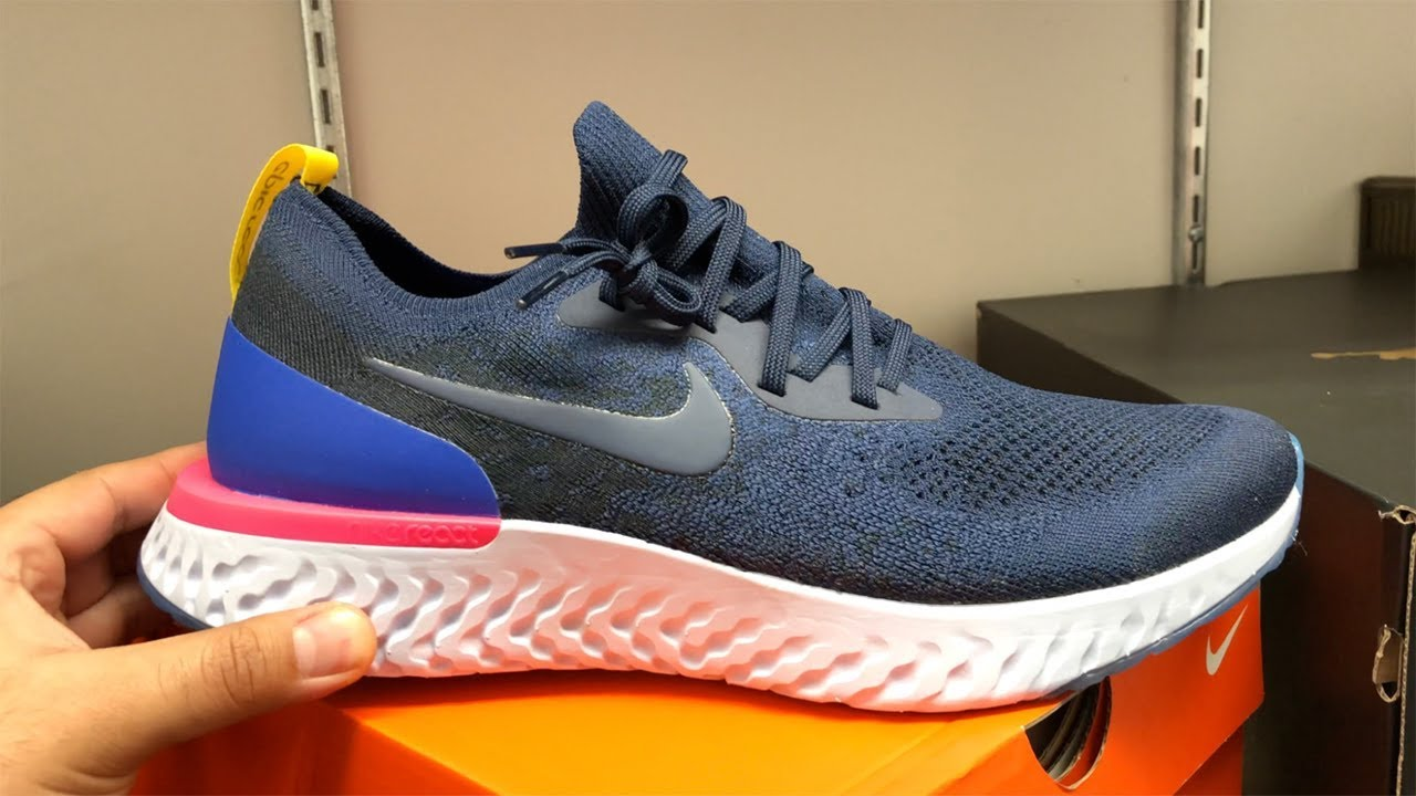 10898eb5b0ce Nike Epic React Early Review + Sizing! - YouTube