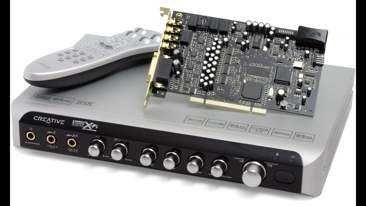 My Creative Sound Blaster X-Fi Elite Pro Sound Card Review