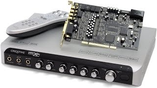 creative Labs, Sound Blaster: X-Fi Elite Pro UnBoxing part 1 of 2
