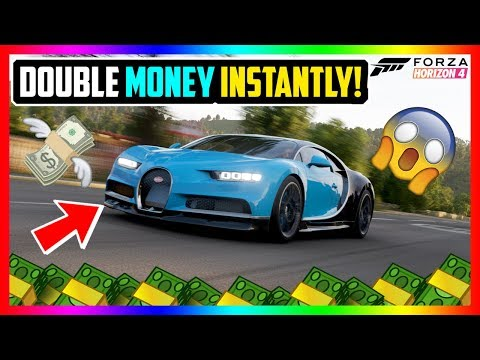Forza Horizon 4: DOUBLE MONEY EASILY! | BEST CREDITS EASY *SAFE + SOLO!* thumbnail