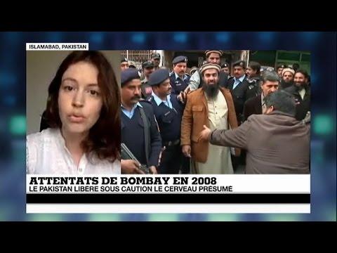 Pakistan : libération du cerveau présumé des attentats de Bombay en 2008