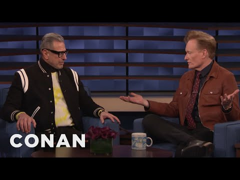 Jeff Goldblum Critiques Conan's New Look