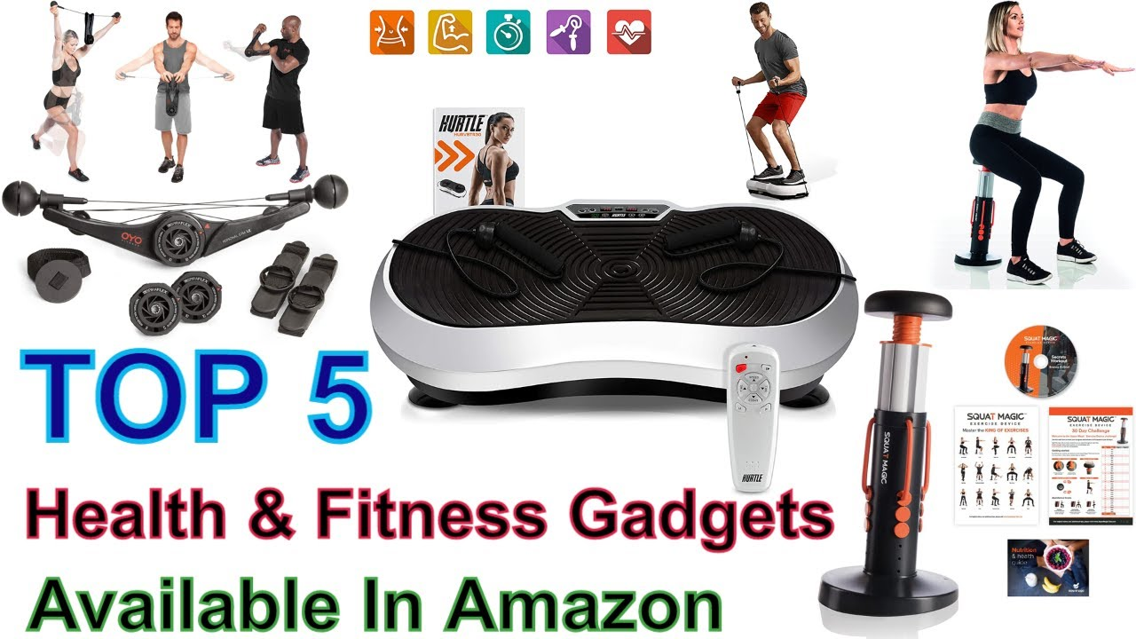 Top 20 Health Fitness Gadgets Available In Amazon   YouTube