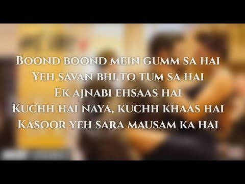 (Lyrics)Boond Boond | Hate Story IV | Urvashi Rautela | Vivan B | Arko | Jubin N | Neeti Mohan