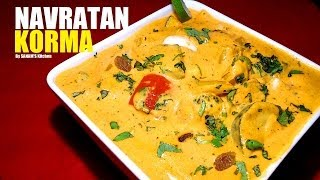 Navratan Korma (Mix Veg Curry) Restaurant / wedding style