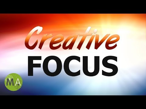 Creative Focus - Stimulate Creativity, New Ideas - Isochronic Tones, Ambient Music