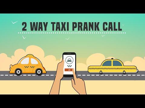 2 WAY PRANK CALL -TAXI CALLS TAXI
