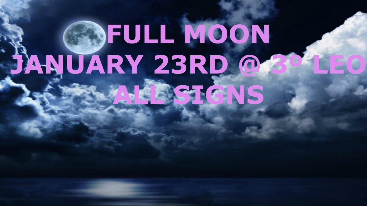 january 23 full moon astrology