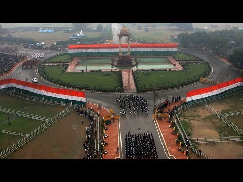 The 66th Republic Day 2015 Ceremony