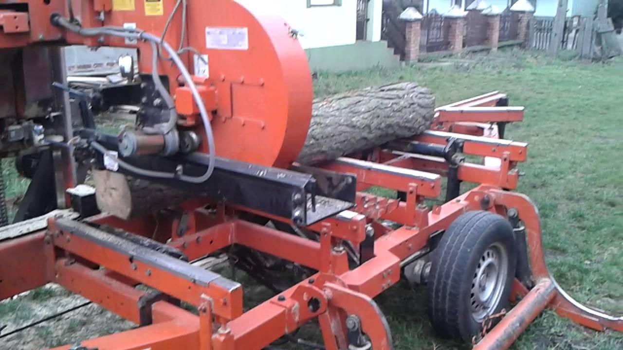 Trak Wood Mizer LT-40 2007r z sw PLC