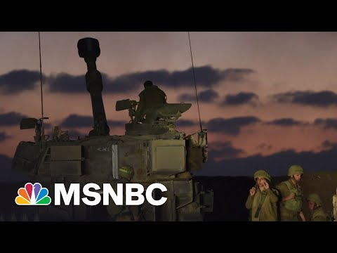 Israeli Troops Preparing For Possible Ground Invasion Of Gaza