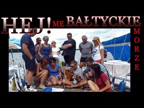 Hej Me Bałtyckie Morze! (tekst/chwyty). -zeglujznami - cover - Mazury. Rejs żeglarski - żagle 29