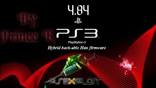 How to Install 4.84 HFW On any PS3 Model with HanToolBox