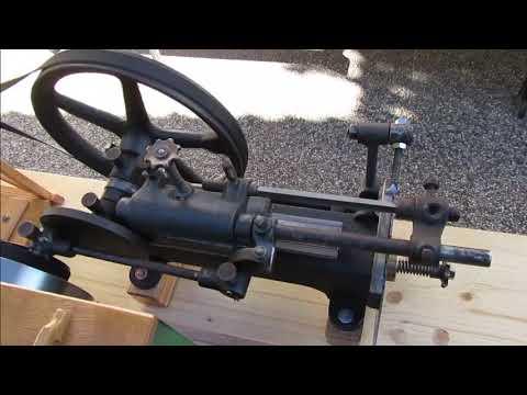 Standmotor Osers & Bauer mit Sägefeilmaschine