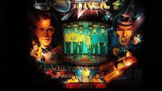 Star Trek 25th Anniversary Data East Pinball!  Artwork, design video!