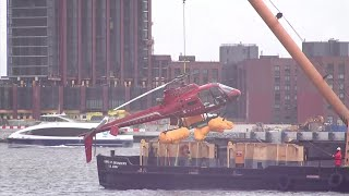 Crashed Helicopter Removed From NYC