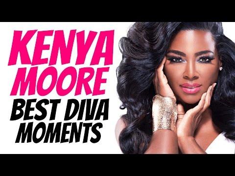 Kenya Moore  Best Diva Moments