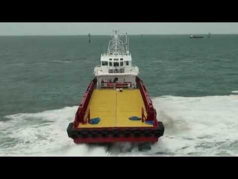 474 Bluewater Chief Sea Trials
