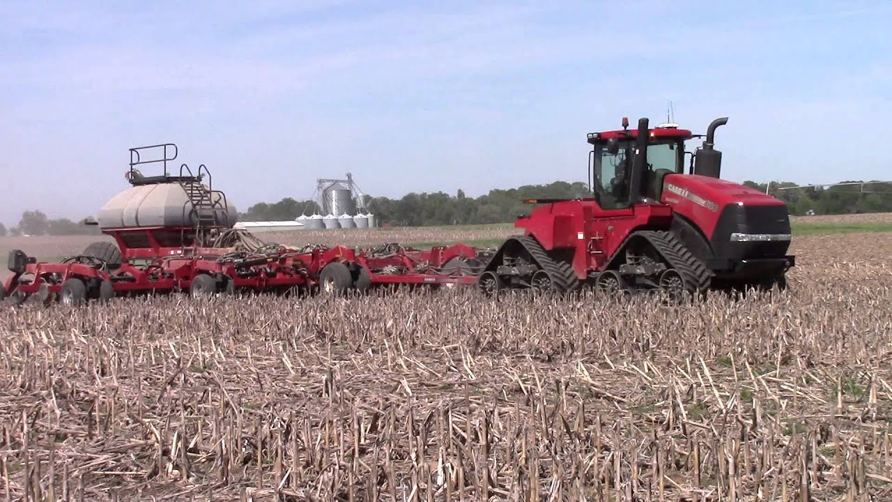 60ft Case Ih 500 Air Drill Youtube