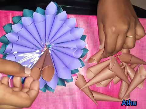 How to make a beautiful paper flower bouquet