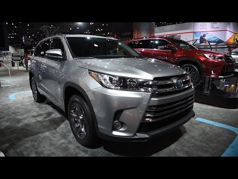 Elegant 2017 Toyota Highlander First Look  2016 New York Auto