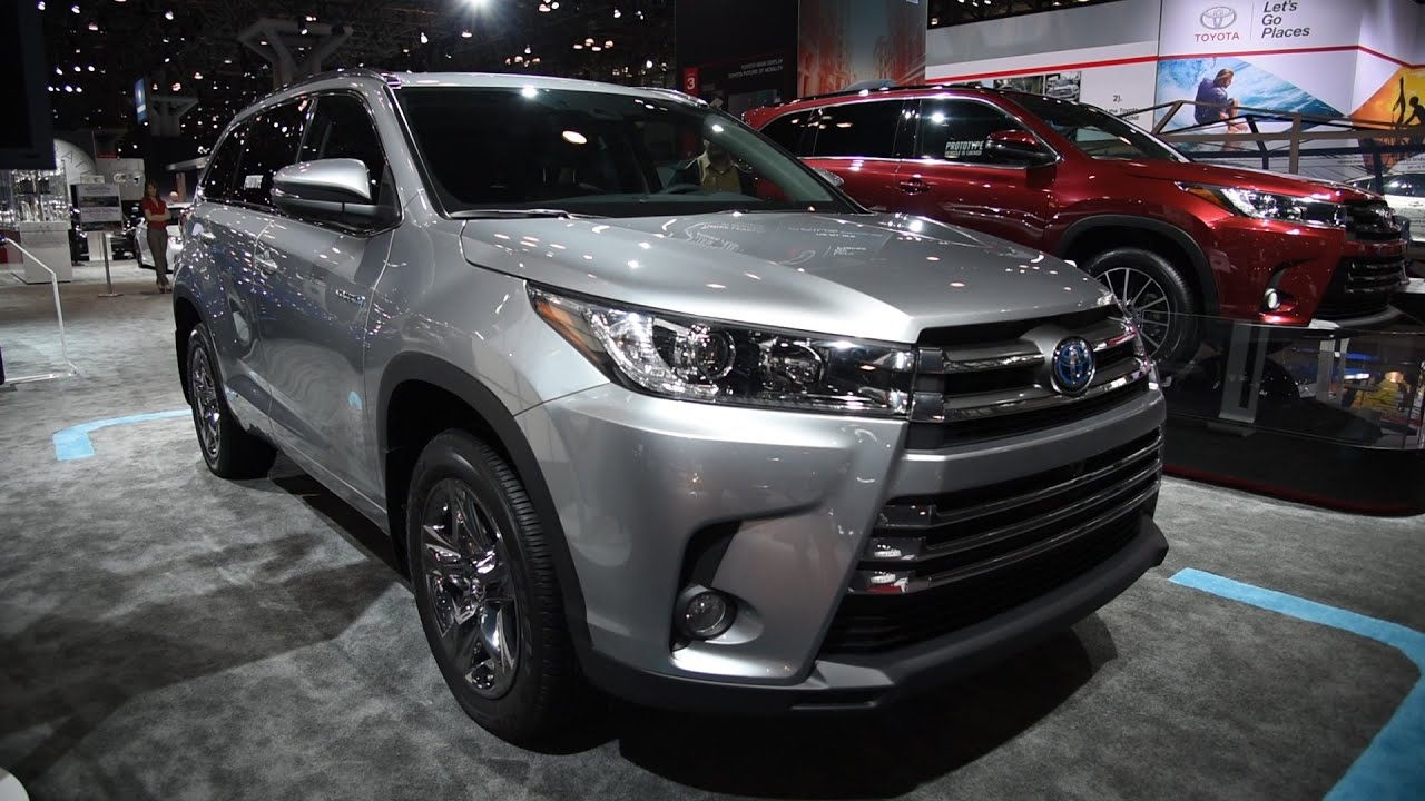2017 Toyota Highlander First Look 2016 New York Auto Show