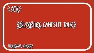 ROBLOX | Bloxburg Campsite ~ 30k