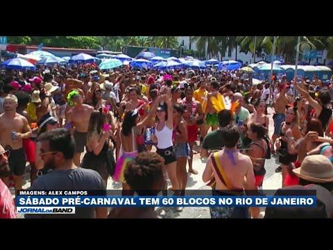 Rio de Janeiro tem 60 blocos no pré-Carnaval thumbnail