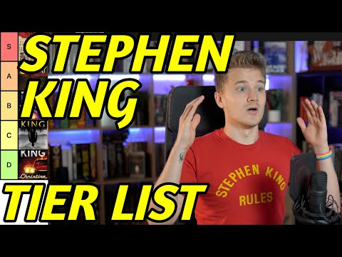 STEPHEN KING – Tier List