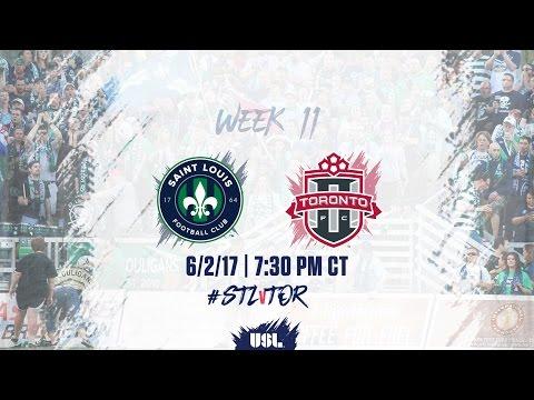USL LIVE - Saint Louis FC vs Toronto FC II 6/2/17