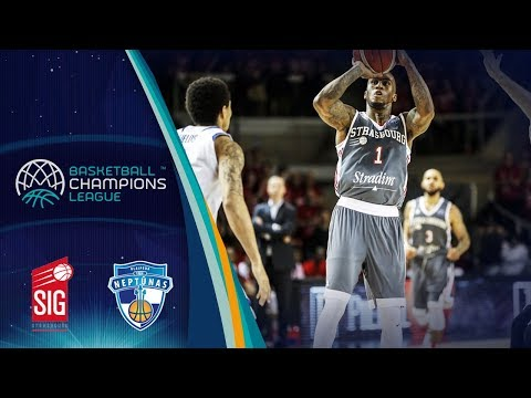 SIG Strasbourg v Neptunas Klaipeda - Highlights - Basketball Champions League