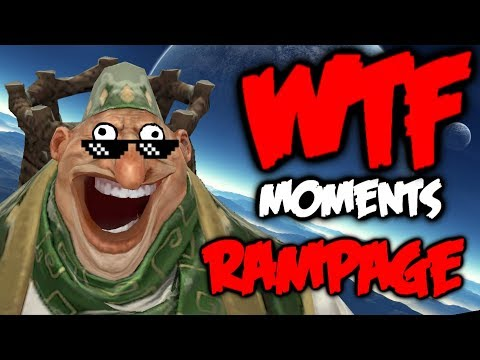 Dota 2 WTF Rampage Compilation 7