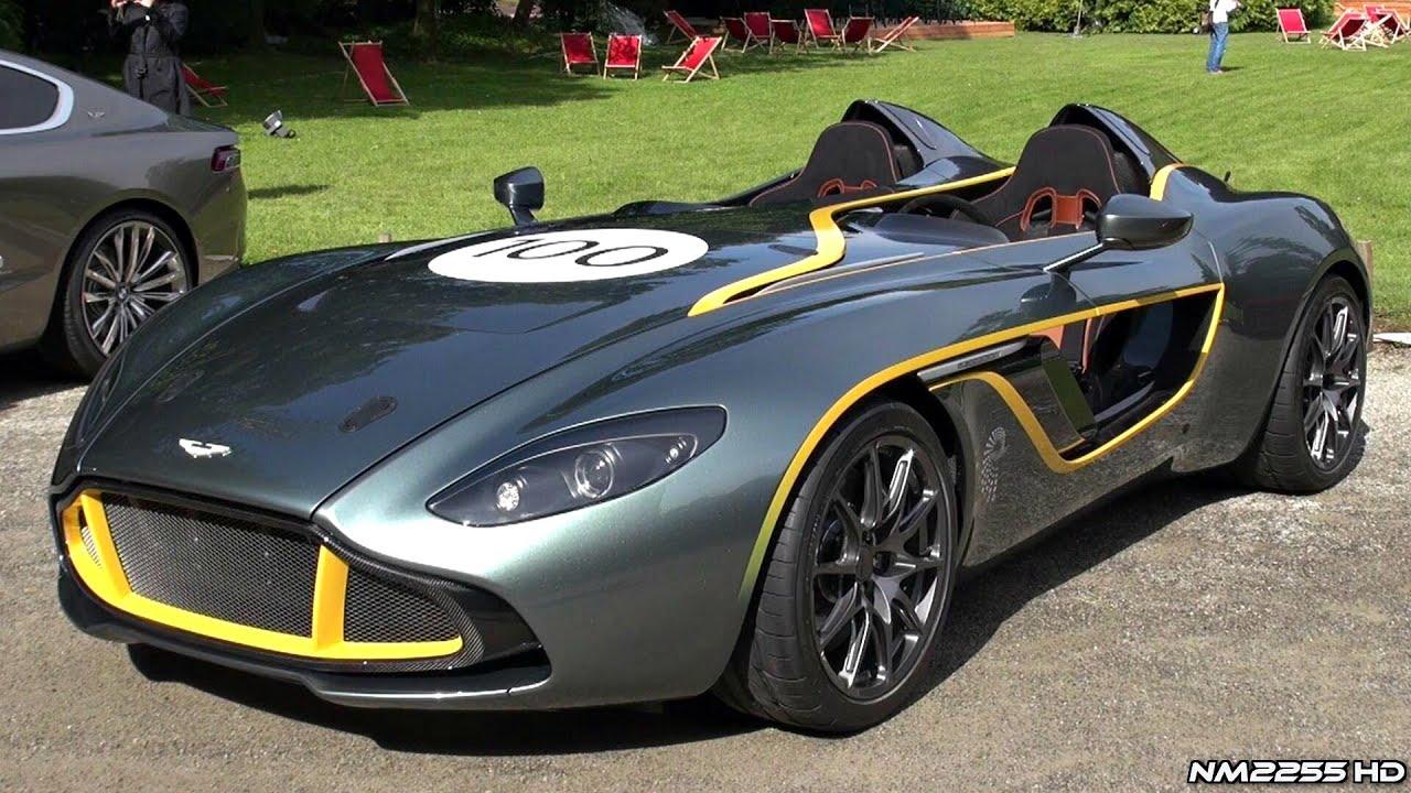 Aston Martin Cc100 Speedster Huge Revs And Sound Youtube