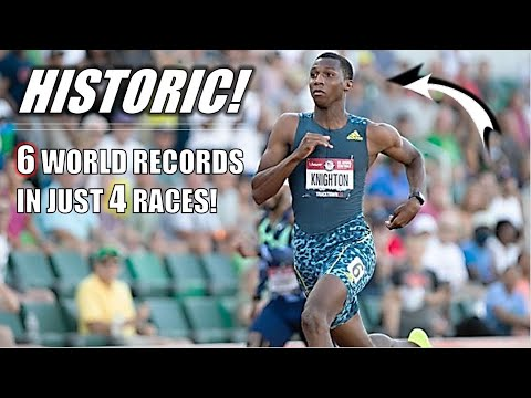 One Of The Greatest Achievements I've Ever Seen | Erriyon Knighton Breaks 6 WORLD RECORDS In 4