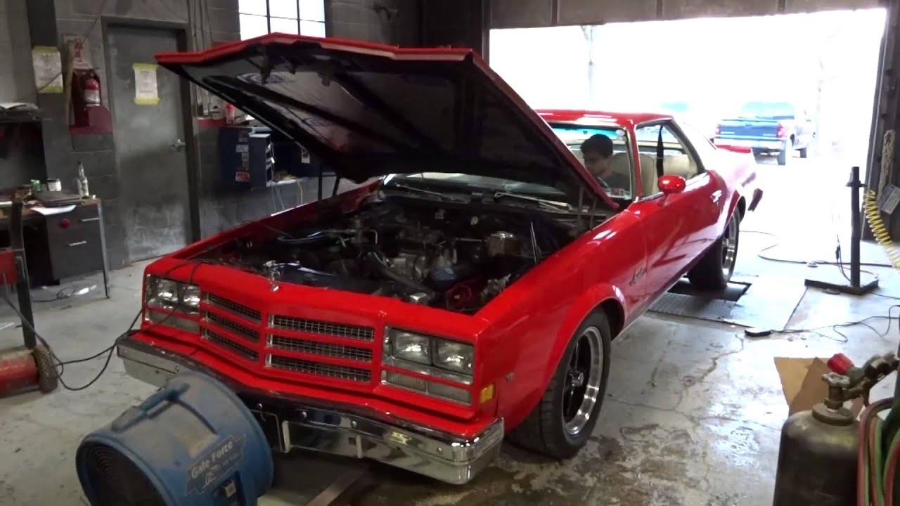 1976 Buick Century 455 on chassis dyno 485 RWHP 484 RWTQ
