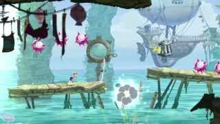 PS Vita - Rayman Legends - Gloo Gloo Musical Level Gameplay Trailer [720p HIGH QUALITY]