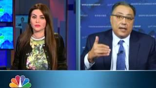 غانم لـ CNBCعربية: البنك الدولي يمول مشروعات بقيمة 1.5 مليار دولار سنويا في مصر