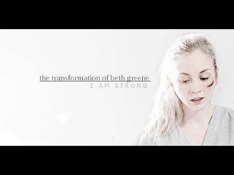 the transformation of beth greene || the walking dead {5x08+} if you must die, sweetheart...