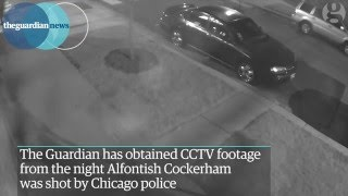 CCTV footage shows Chicago police shooting of 22-year-old