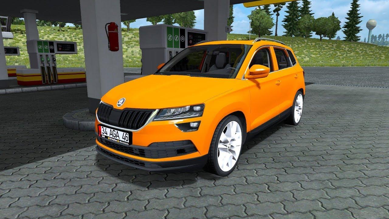 Ets 2 Mod Skoda Karoq 2018 Euro Truck Simulator 2 1 30 Youtube