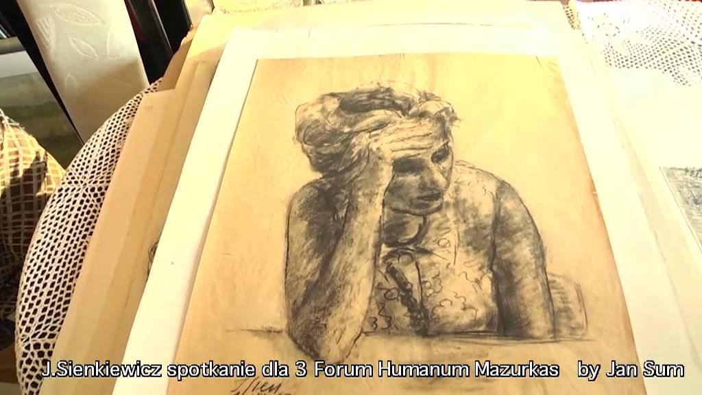 Janusz Sienkiewicz - rozmowa wokół twórczości w domu artysty - materiał filmowy III FHM 2