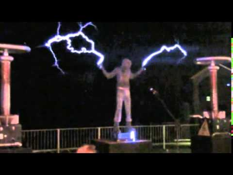 arc attack faraday suit and lightning shoes youtube